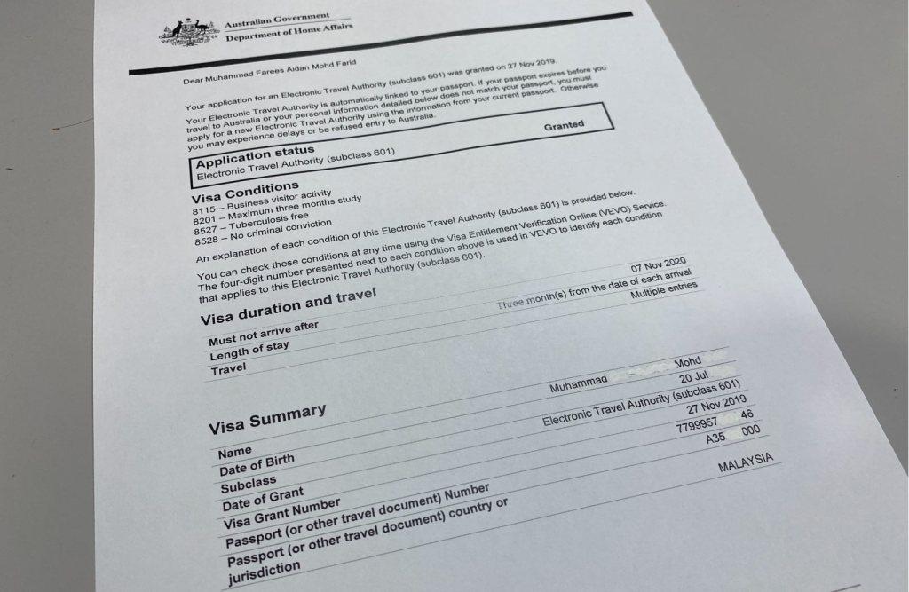 Visa to Australia for Malaysian, eta australia Malaysia, apply Australian visa online, Australia visa apply